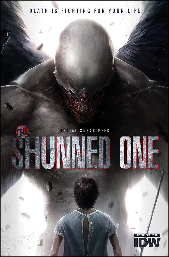 The Shunned One Cover